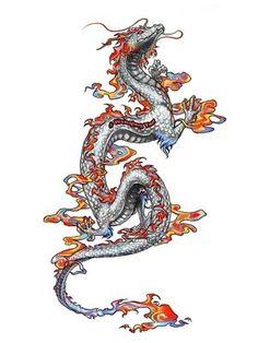 japenese dragon tattoo idea