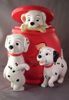 Complete Disney Cookie Jar Gallery: 101 Dalmatians