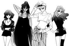 The Sailor Moon Experience Sailor Neptune, Sailor Uranus, Arte Sailor Moon, Sailor Moon Fan Art, Sailor Moon Character, Sailor Moon Manga, Sailor Moon Crystal, Sailor Saturno, Sailor Moon Personajes