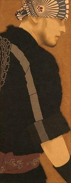 Ikenaga Yasunari - Japanese Illustration - Nihonga Style....WOW!