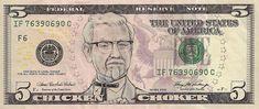 Dollar Bills Turned Into Portraits Of American Icons   Bored Panda