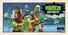 TMNT - Visiting the Big Apple this winter? Keep an eye...