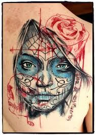 mexican girl tattoo meaning - Pesquisa Google