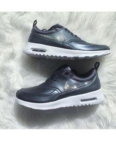 info for 0c5ce 892be Air Max Thea Metallic Hematite Summit White Black Womens Nike Air Max Sale,