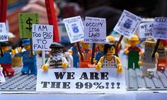 Lego Protesters.