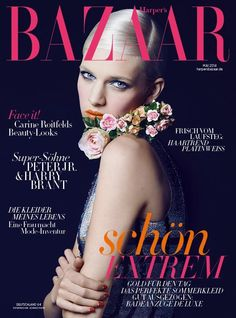 Ashleigh Good for Harper's Bazaar Germany May 2014