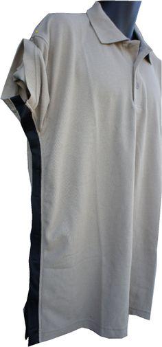 SIDE OPEN / Beige / Golf shirt / disability by DressWithEase, $36.00