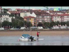 8 abril.1ª prueba del circuito Cantabro de SUP San Vicente.  Por mundialdevela2014.m4v