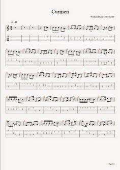 Partituras para guitarra para descargar gratis en formato solfeo - tablatura   Himno a la alegría  L. V. Beethoven    Cashina Pequenin...
