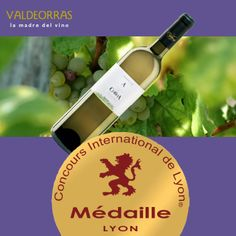 A Coroa SAT triunfa en el Concurso Internacional de Lyon con su vino A Coroa. ¡Felicidades! http://www.dovaldeorras.tv/a-coroa-sat-triunfa-en-el-concurso-internacional-de-lyon/