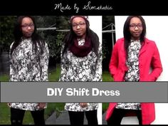 OTTD & DIY Shift Dress | Made by Simstatic - YouTube