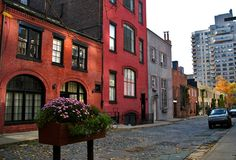 Originally an alleyway, Washington Mews is one of a few private streets in NYC. Many of the buildings are converted carriage houses which once served the town houses on 8th Street and Washington Square North.