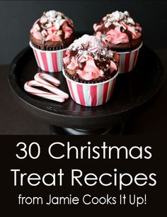 Christmas Treats from Jamie Cooks It Up! You have to check out her blog. Super easy and super tasty!!! Love you Jamie!