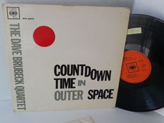 THE DAVE BRUBECK QUARTET countdown timer in outer space, BPG 62013 - JAZZ, BLUES, Jazz-rock-prog, nearly jazz and nearly blues!