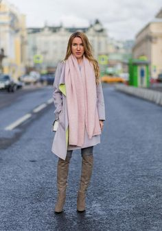 31 Winter Outfit Ideas - Your Daily #OOTD Inspiration for This Winter: Try a Lighter Palette