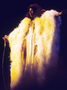 This how I imagine Donna Summer would look once she made her sparkling arrival at the golden gates of Heaven.