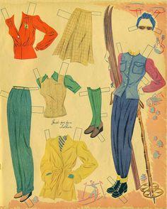 Betty Grable 1941 Whitman #989 uncut book - Bobe Green - Picasa Webalbum