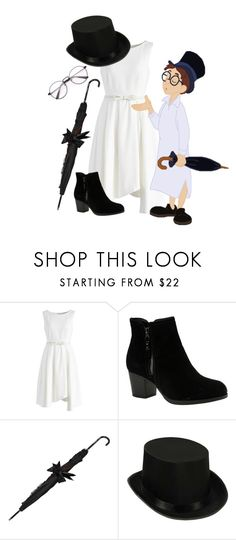 """""""Peter Pan: John Darling"""" by madalynofandalasia on Polyvore featuring Chicwish and Skechers"""