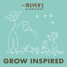 Grow Inspired with Mrs. Meyers Clean Day