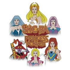 She-Ra Princess of Power - Girls of The Great Rebellion - Color