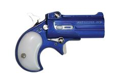 Cobra Derringer 22 - Royal blue with pearl grip. Just ordered myself one of these sweeties.