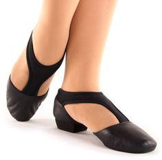 Ultimate Grecian Folk Dance Shoe - BLACK