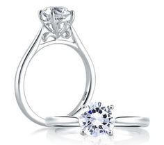 Art Inspired Solitaire Ring