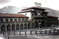 Estacion del Norte. Oviedo | See where this picture was take… | Flickr Mansions, House Styles, Building, Pictures, Travel, Vintage, Norte, Old Photography, Parking Lot