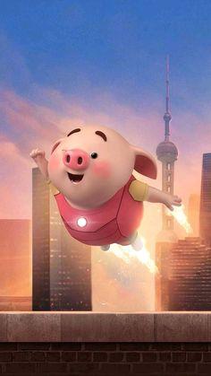 This Little Piggy, Little Pigs, Dolly Parton, Kawaii Pig, Pig Wallpaper, Cute Piglets, 3d Art, Small Pigs, Wonder Art