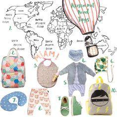 Reisen mit Kind & Reiseapotheke | Pinspiration