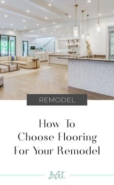 How to choose flooring for you remodel! Tips to making the right decision! Engineered Hardwood Flooring, Parquet Flooring, Hardwood Floors, Eco Friendly Flooring, Luxury Vinyl Flooring, Contemporary Interior Design, Flooring Options, Interior Design Services, Home Decor Inspiration