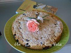 Pastel de Arándanos (sin gluten, sin huevos, sin leche, sin mantequilla)
