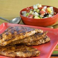 Heart Healthy Recipes: Grilled Rub-Down Chicken