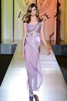 Versace at Couture Fall 2012