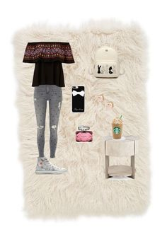 """""""Untitled #25"""" by elizanico ❤ liked on Polyvore featuring interior, interiors, interior design, home, home decor, interior decorating, Nordstrom, River Island, Converse and Casetify"""