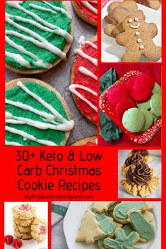 All of the Christmas beauty & flavor in Keto Low Carb Cookies! No need to miss out with your favorite recipes here! Diet Cheesecake Recipe, Soft Gingersnap Cookies, Keto Friendly Desserts, Keto Desserts, Peppermint Cookies, Keto Cookies, Cookie Recipes, Cookie Ideas, Christmas Cookies