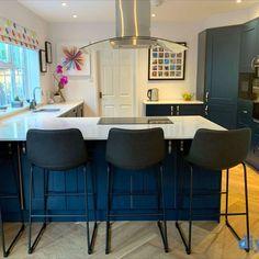 An Innova Stanbury Cobham Blue Shaker Kitchen