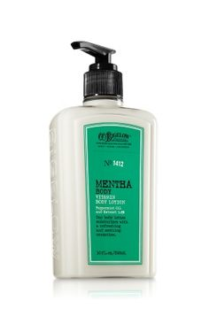 Mentha Body Lotion - C.O. Bigelow - Bath & Body Works Love this stuff! It is not all nature but it makes you tingle!