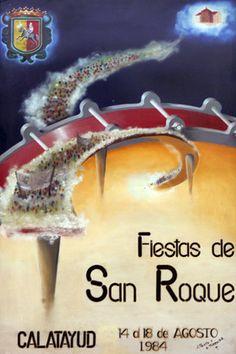 Fiestas San Roque Calatayud  1984