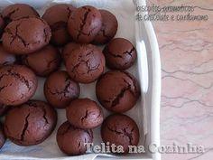 Telita na Cozinha: biscoitos aromáticos de chocolate e cardamomo