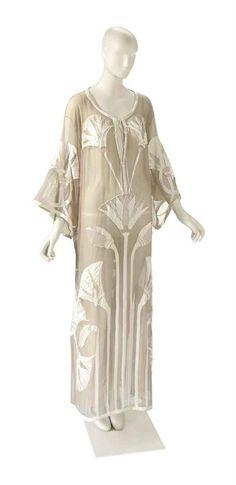"Costume worn by Elizabeth Taylor in ""Cleopatra"" (1963), designed by Irene Sharraf."