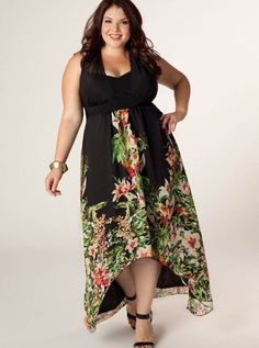 Flattering summer dresses - http://fashion-plus-size-womens.info ...