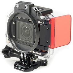 Backscatter GoPro Flip3 top mounted filter.