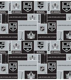 Los Angeles Kings NHL Fleece Fabric | Find fleece fabric from Joann.com