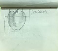 Fundamentals of drawing: (e) Apple sketching