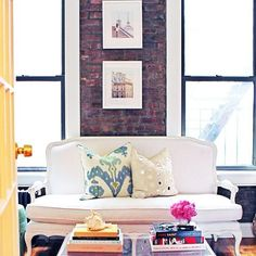 Sneak peek (and regram) of our NYC home tour with...