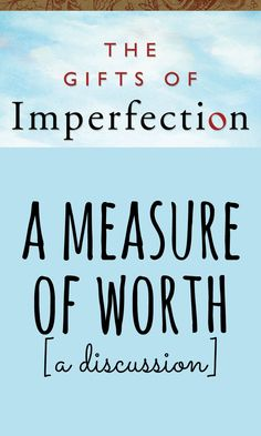A measure of worth