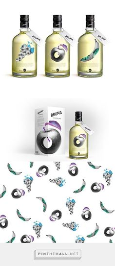 Bruma French Liquor Packaging by Zorg Zorgy   Fivestar Branding Agency – Design and Branding Agency & Curated Inspiration Gallery