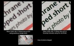 is manual focus better than auto focus