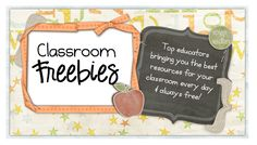 Classroom Freebies is my collaborative blog that I started when I noticed that so many teachers were really struggling with budget cuts, loss of jobs, and just didn't have the funds to purchase quality teaching materials.  I asked some of my blogging buddies to help out and at almost 100 contributors and heading over 1,000 freebie posts later, we have proven that it is a useful tool for so many educators!  I also have a Pinterest board dedicated just for the pinning the freebie posts from this blog, so make sure to stop by an grab a freebie or two, or 10!  :)  http://pinterest.com/theocblog/classroom-freebies/